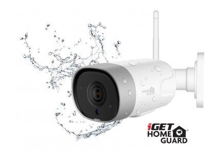 iGET HGWOB852 - WiFi venkovní IP FullHD 1080p kamera,krytí IP66,mikrofon + reproduktor,LAN,ONVIF 2.5