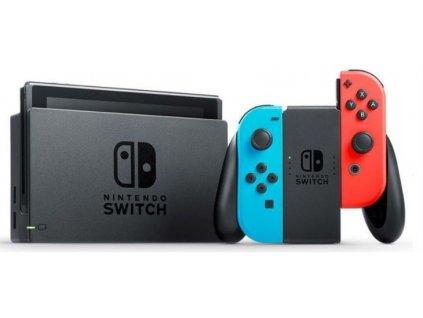 Nintendo Switch neonred&blue