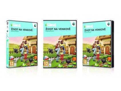 PC - The Sims 4 - Život na venkově