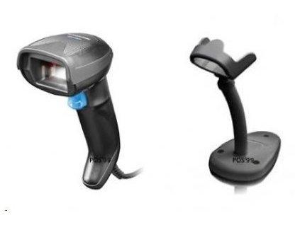 Datalogic Gryphon I GD4520, 2D, USB, kit (USB), black, stojánek