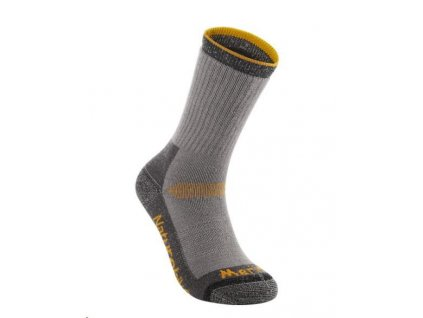 Naturehike sportovní merino ponožky vel. 35-39 - šedo-oranžové