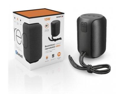 Bluetooth outdoor reproduktor ALIGATOR STEREO ABS3 ČERNÝ