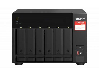 QNAP TVS-675-8G (8core 2,5GHz / 8GB RAM / 6xSATA / 2xM.2 NVMe slot / 2xPCIe / 2x2,5GbE / 1x HDMI 4K)