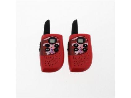 Cobra CBR114 dětská vysílačka, červená