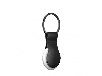 Nomad pouzdro Leather Loop pro Airtag - Black