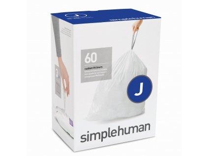 Sáčky Simplehuman do odpadkového koše 30-45 l, typ J zatahovací, 3 x 20 ks ( 60 sáčků )