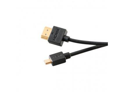 AKASA - HDMI na mikro HDMI kabel - proslim - 2 m