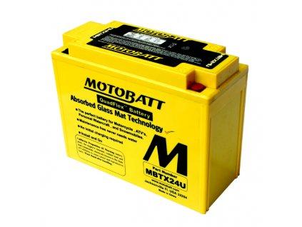 Baterie Motobatt MBTX24U 25 Ah, 12 V, 4 vývody
