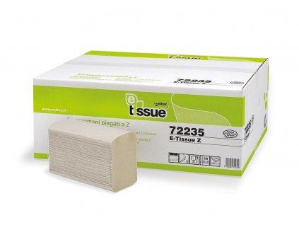 Ručníky Celtex papírové skládané BIO E-Tissue 3750ks, 2vrstvy
