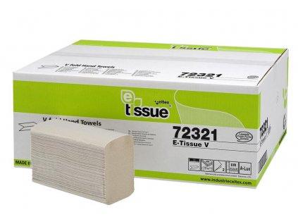 Ručníky Celtex papírové skládané BIO E-Tissue 3000 ks, 2vrstvy
