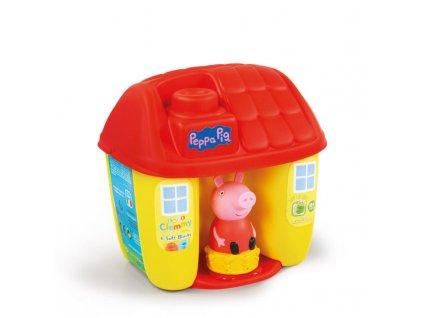 Kyblíček Clementoni baby - Peppa Pig - s kostkami