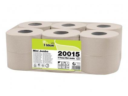 Toaletní papír Celtex Mini Jumbo role BIO E-Tissue 2vrstvy - 12 ks