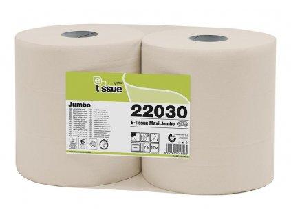 Toaletní papír Celtex Jumbo role BIO E-Tissue 2vrstvy - 6 ks