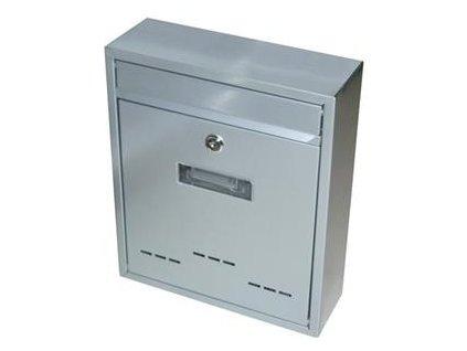 Schránka poštovní RADIM malá 310x260x90 mm šedá