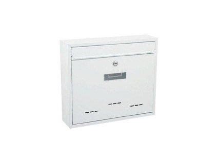 Schránka poštovní RADIM velká 310x360x90 mm bílá