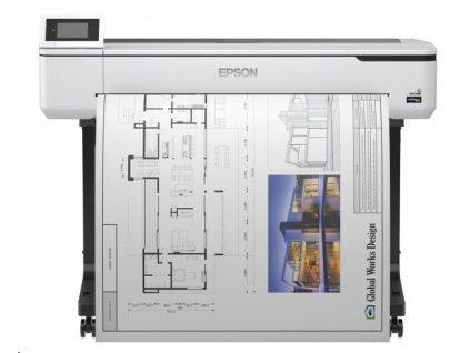 EPSON tiskárna ink SureColor SC-T5100, 4ink, A0, 2400x1200 dpi, USB ,LAN ,WIFI, Ethernet