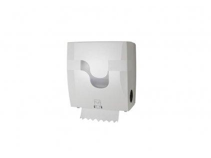Zásobník Celtex na papírové ručníky v Matic roli bílý - mechanický