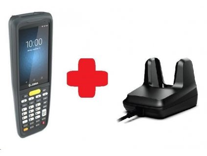 Zebra MC2700, 2D, SE4100, 2/16GB, BT, Wi-Fi, 4G, Func. Num., GPS, Android + cradle