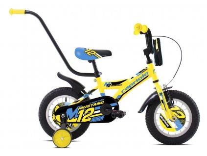 """Dětské jízdní kolo Capriolo BMX 12""""HT MUSTANG neon yellow black"""