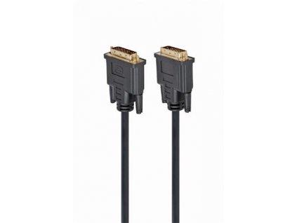 Gembird kabel propojovací DVI-DVI, M/M, 1,8m DVI-D dual link