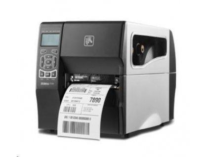 Zebra ZT230, 8 dots/mm (203 dpi), odlepovač, display, EPL, ZPL, ZPLII, USB, RS232, Ethernet