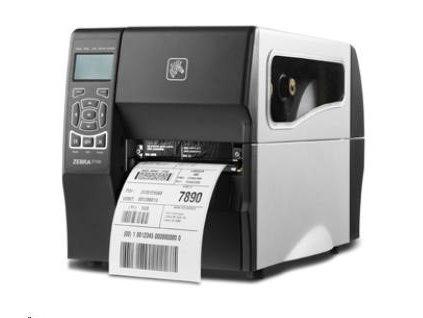 Zebra ZT230, 12 dots/mm (300 dpi), display, ZPLII, USB, RS232, Ethernet