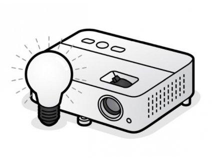 BenQ Lampa pro projektor SX920 / SW921 / SU922 / TH920 / TH922 / MH760 / SU922+ / SW921+ / SX920+/ DW921 / DX920 PRJ