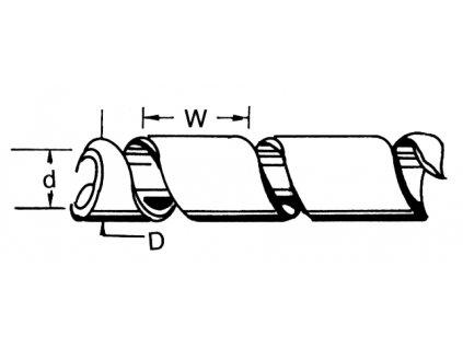Fixapart SWB KS-19BLACK - Kabelové Bužírky 100 mm 10.0 m, černá