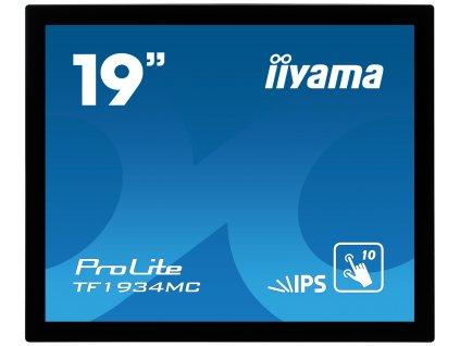 19'' iiyama TF1934MC-B7X: IPS, 1280x1024, capacitive, 10P, 350cd/m2, VGA, DP, HDMI, IP65, černý