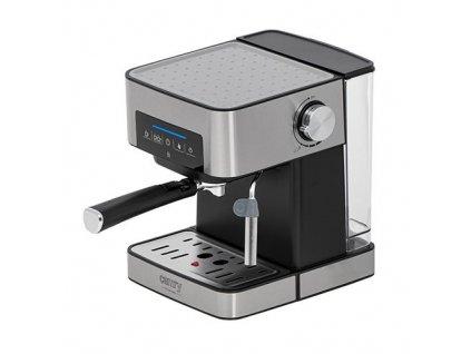 CAMRY CR 4410, Tlakový pákový kávovar, design stříbrná