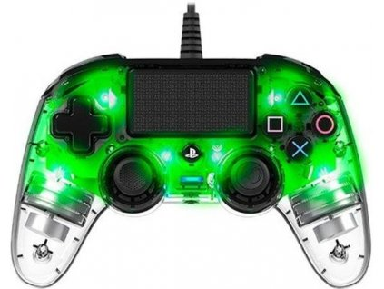 Nacon Wired Compact Controller - transparent green (PS4)