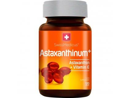 Herbamedicus SwissMedicus Astaxanthinum+ 120 kapslí