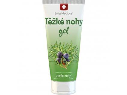 Herbamedicus SwissMedicus Těžké nohy gel - tuba 200 ml