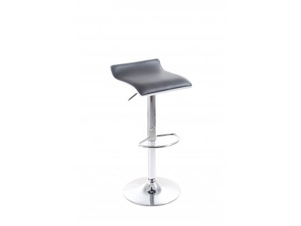 Barová židle G21 Clora koženková black