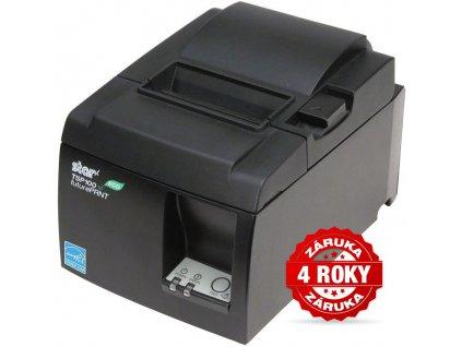 Tiskárna Star Micronics TSP143IIW Černá, WiFi, řezačka, 4roky zaruka