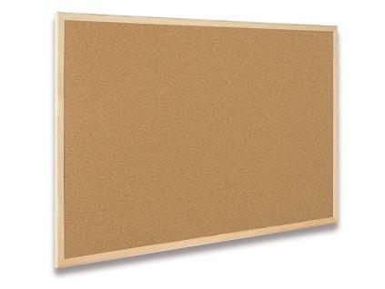Nástěnka CLASSIC Cork Board Eco 60x80cm, korek, dřevěný rám