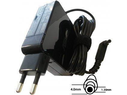 Asus orig. adaptér 65W19V (BLK) s EU plugem (B0A001-00040700)