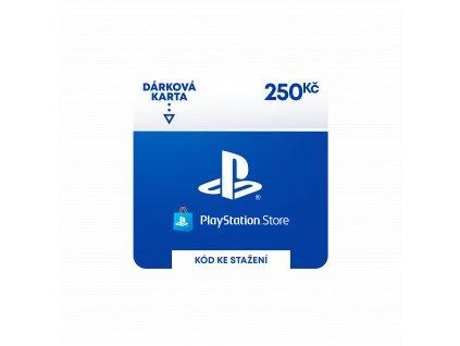 ESD CZ - PlayStation Store el. peněženka - 250 Kč