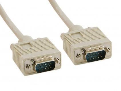 4World Kabel VGA 15M-15M 1.8m Gray