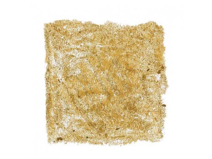 Voskový bloček, metalická zlatá, samostatný