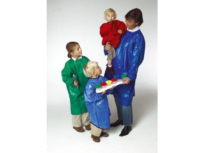 Zástěra na malování - pro dospělé, modrá