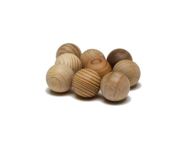 Dřevěné kuličky Xyloba