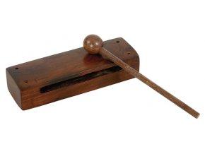Dřevěný blok s paličkou