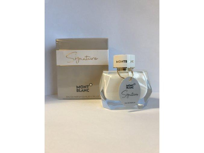 Mont Blanc - signature parfémová voda, 50ml