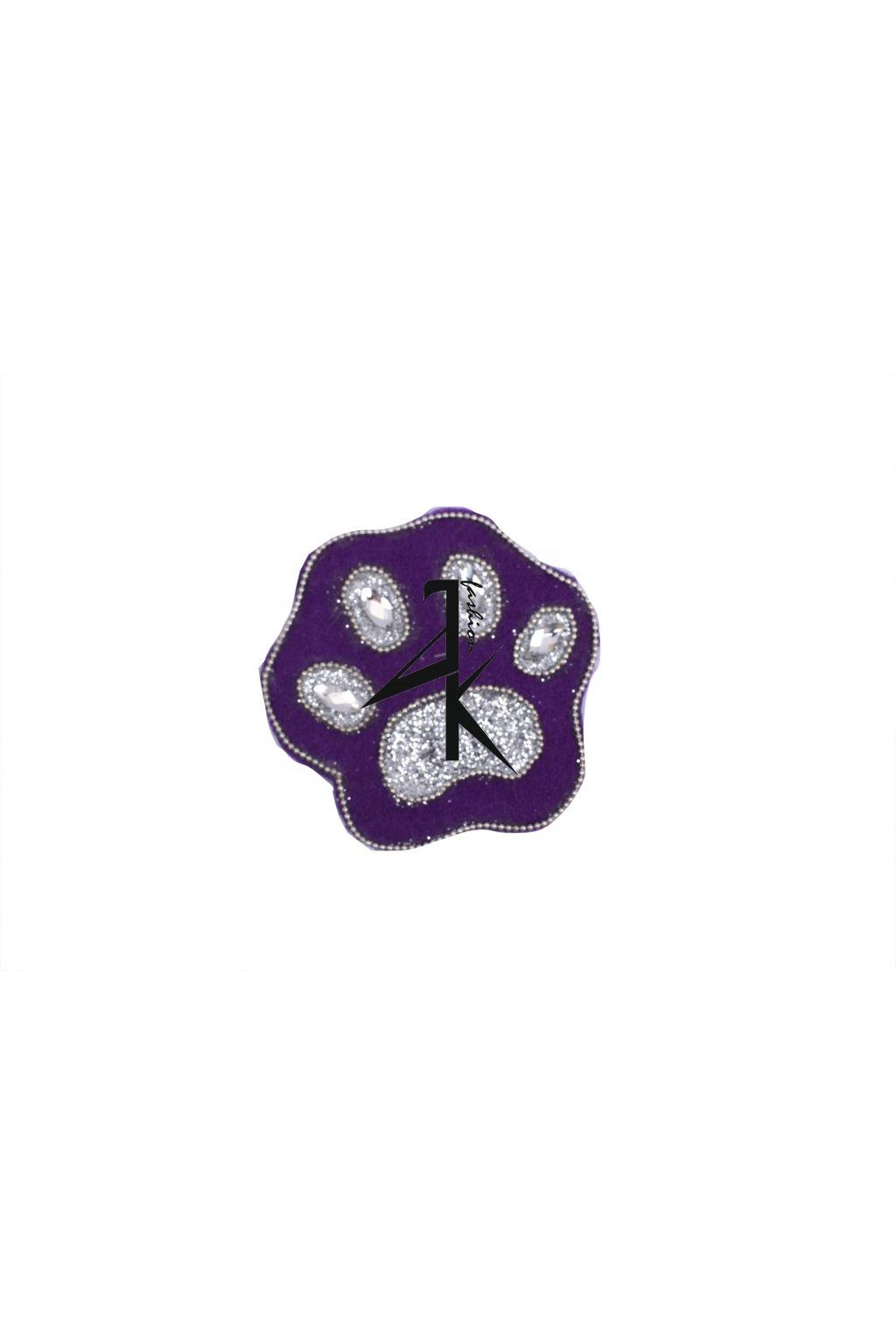broz tlapka VV fialova