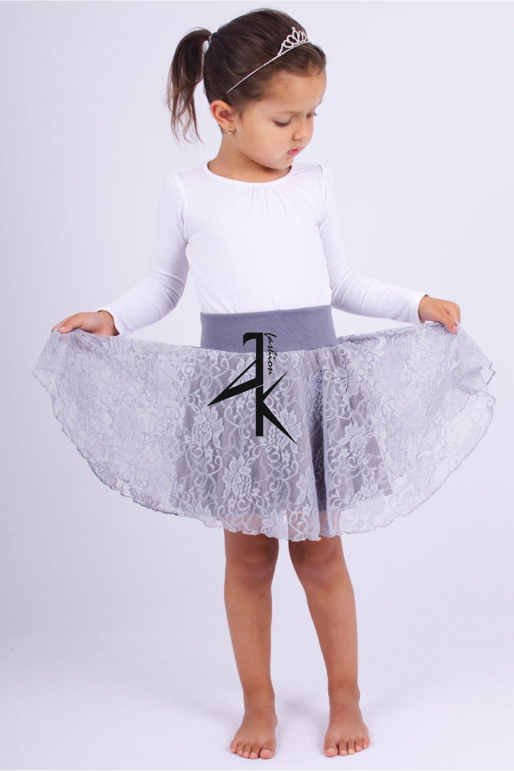 detske sukne krajka grey 11107026