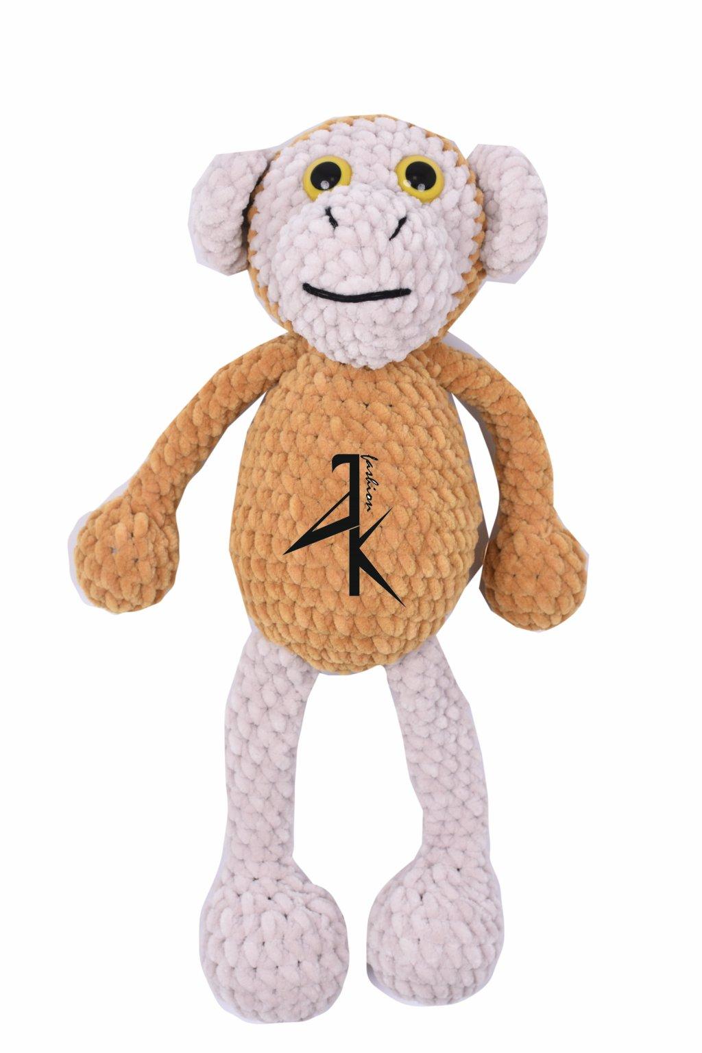 dekorace hracky hackovana opice 111