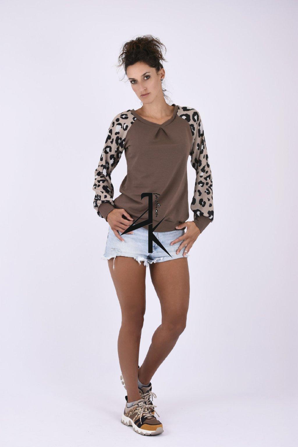 damske mikina leopard 1