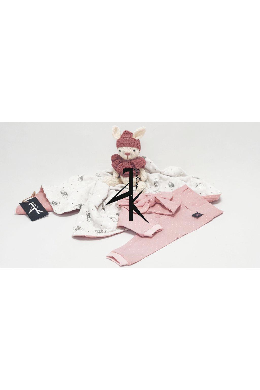 dekorace deky zajicek holka minky