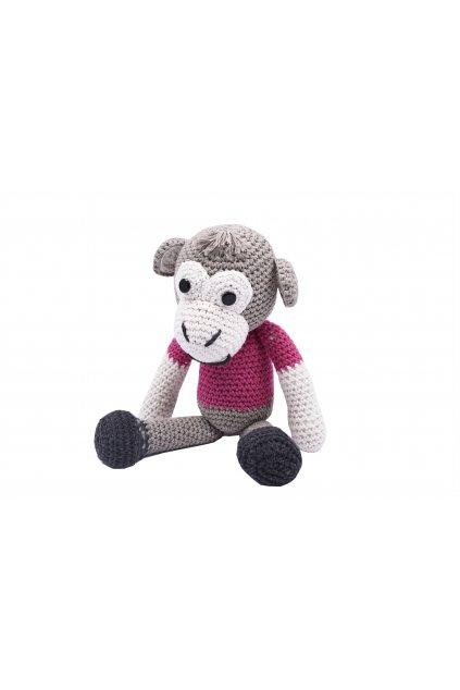 dekorace hracky hackovana opice 11114338